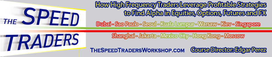 The Speed Traders Workshop 2012: The Present and Future of High-Frequency Trading